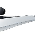 Der 3,5-mm-Klinkenanschluss befindet sich auf der Innenseite der Seitenblenden.