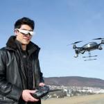 Cinemizer OLED als Drohnensteuerung