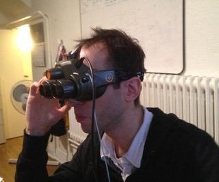 Auf der CES möchte Bertrand Nepveu ausgewählten Firmen den Prototypen des Totem vorgestellt haben.