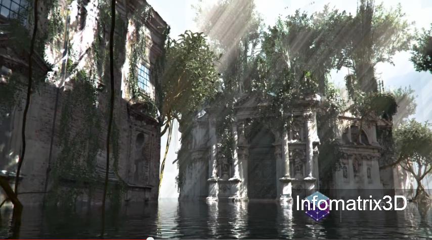 Infomatrix3D bringt die echte in die virtuelle Realität