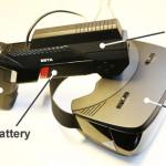 Im Controller des antVR steckt Controller, Scaler und Batteriepack.