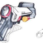 Kurioses Detail: Die Batterien sollen wie Schrotpatronen geformt sein.