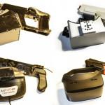 Die bisherigen Prototypen zeigen den Fortgang der Designs.