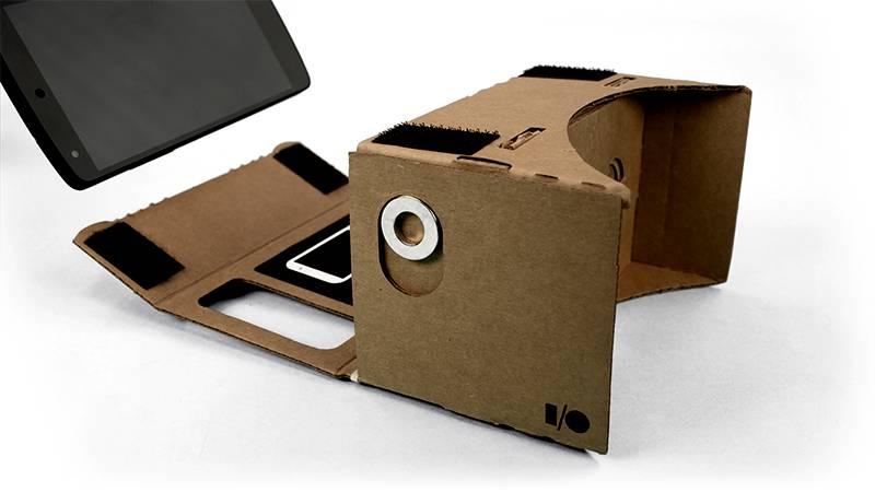 Google Cardboard: VR-Brille aus Pappe