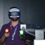 Auch Morpheus selbst lässt sich Dank der blauen LEDs tracken.