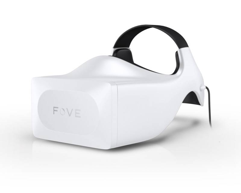 Fove: Eyetracker im Head Mounted Display