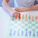 Mit einem Fingerabdruck Schach spielen: mit augmentierten Inhalte kann Thermotouch ebenfalls interagieren.