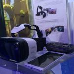 Das Komplett-Set: Gear VR, Galaxy Note 4 und Controller - etwa 1000 Dollar sollte man hier schon einrechnen.